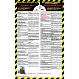 Mandatory California Forklift Poster
