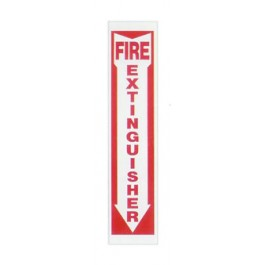 Fire Extinguisher Arrow - Plastic