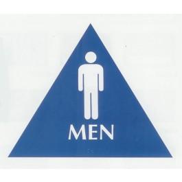 Restroom Braille Sign - Large ADA - Men (Posters)