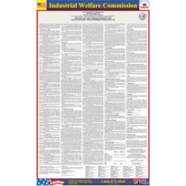 Industrial Welfare Commission Poster
