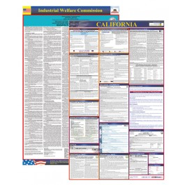 California Labor Law Poster - Discount Pack