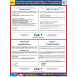OSHA Pandemic Flu Protection Poster