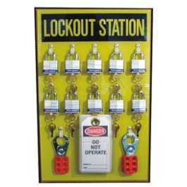 Lockout Station Kit (10 padlock)