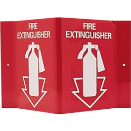 Fire Extinguisher (with symbol) - projecting sign