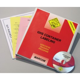 GHS Container Labeling in Construction Environments (Spanish)