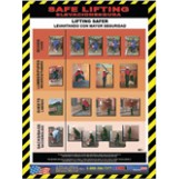 Safe Lifting Poster - Bilingual
