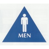 Restroom Braille Sign - Large ADA - Men (Posters)