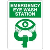 Eye Wash Sign (w/graphic)