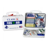 Class A First Aid Kit - Poly White