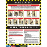 Safe Lifting Poster
