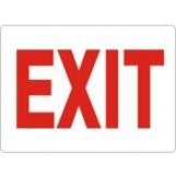 "Exit Sign - Aluminum (10""x14"")"