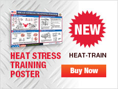 Heat Stress Training Poster